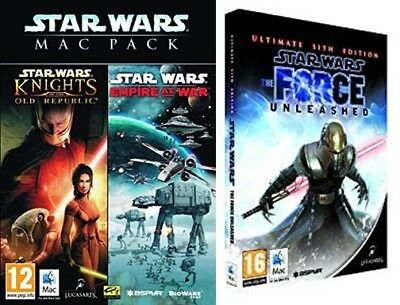 Star Wars Empire At War Knights Of The Old Republic The Force Unleashed Sith Ebay
