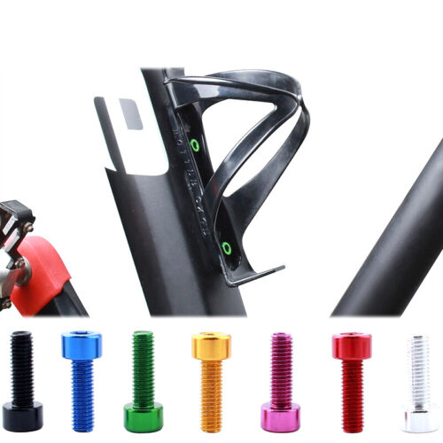 4x Bicycle Water Bottle Holder Screw Bicycle Bottle Bolt Bicycle Bottle Screw P1