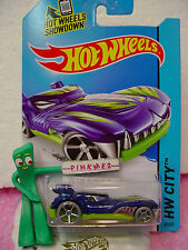 Case L/M 2014 i Hot Wheels HOWLIN' HEAT #67 ☆ Blue/Sublime Green☆Medieval Rides