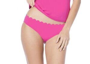 d65ec9aa272 NEW LA BLANCA 'Petal Pusher' Scalloped Hipster Bikini Bottoms Size 6 ...