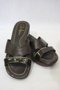 27e292d80631 ... reduced image is loading cole haan nike air sandals womens brown  leather 58735 95b23