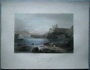 1842-Bartlett-print-MELK-BENEDICTINE-ABBEY-DANUBE-AUSTRIA-38