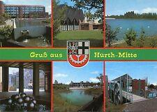 Alte Postkarte - Gruß aus Hürth-Mitte