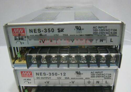 1PCS New meanwell Switching Power Supply NES-350-12 12V 29A