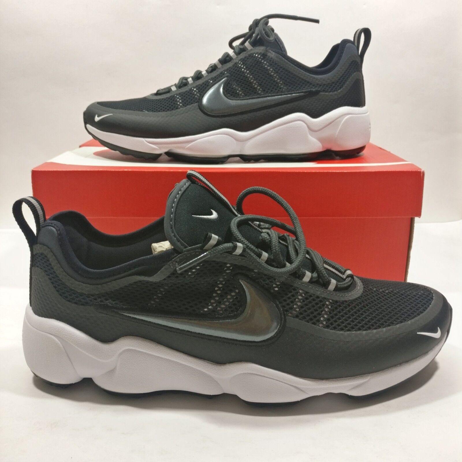 Mens Nike Air Zoom Black Spiridon Running Training Shoes Black Zoom Multi Size 876267-003 fed43f