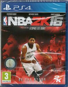 NBA 2K16 Basketball GAME PS4 (2016) ~ NEW / SEALED