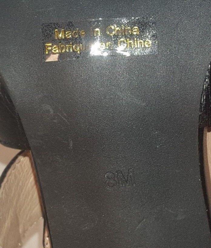 NEW JEFFREY CAMPBELL BLACK LEATHER MATERA SLINGBACK HEELS DamenschuheS DamenschuheS HEELS US 8 cb967d
