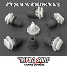 15x zierleistenklammern klip las molduras türleisten para Opel Astra Zafira #neu #
