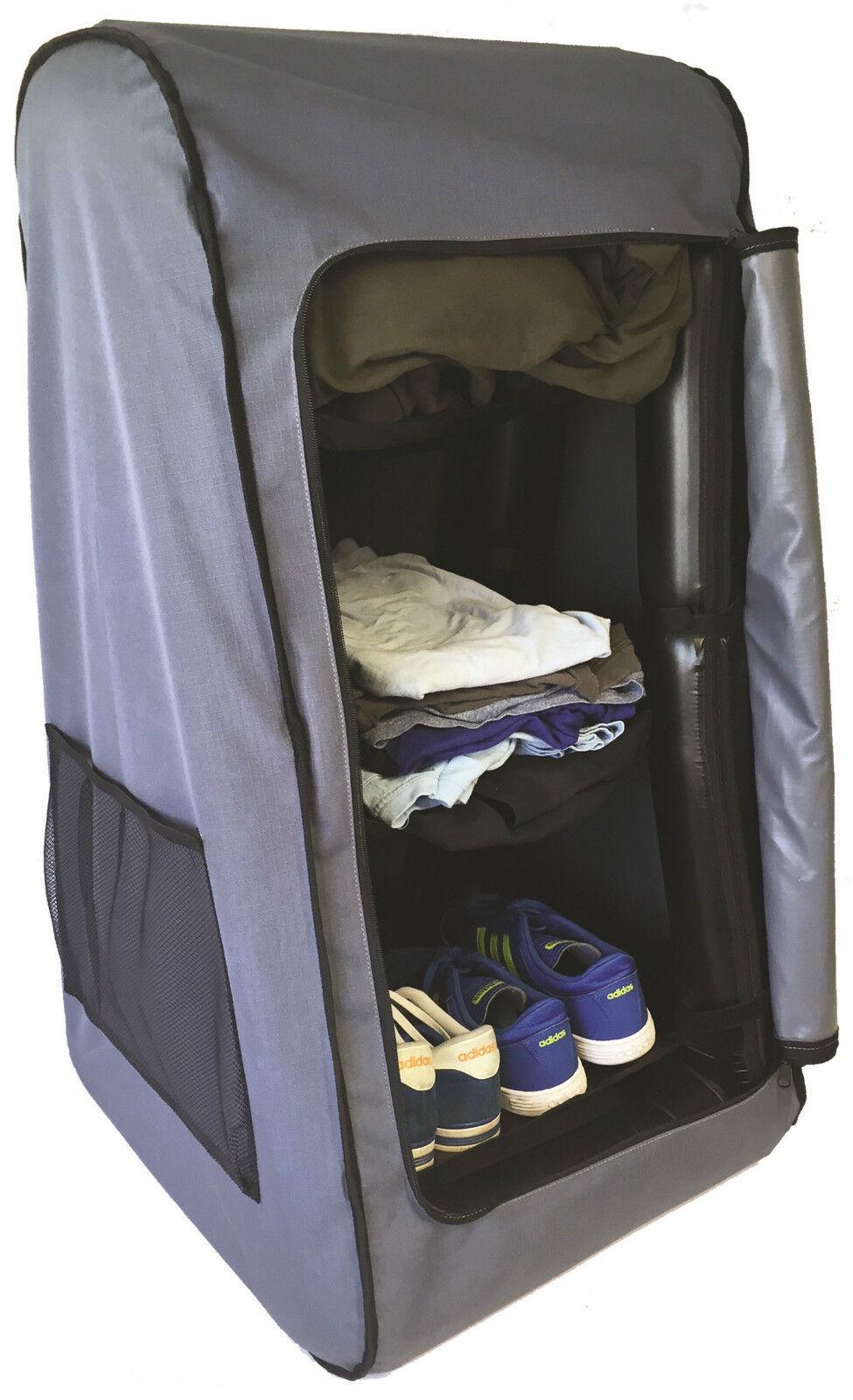 AirDrobe Portable Air Travel Camping Caravan Tent Inflatable Air Portable Clothes Wardrobe 795d38