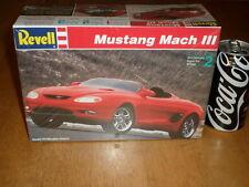 MUSTANG MACH III, Plastic Model Car Kit, Scale 1/25, VINTAGE