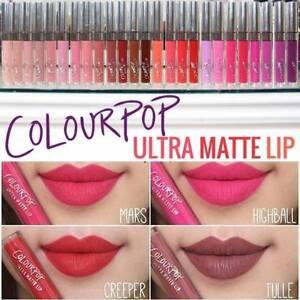 Colourpop, Matte lipstick brands