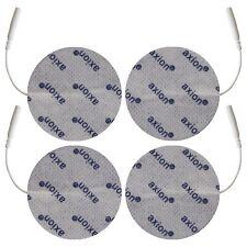 4 elektrody samoprzylepne wielokrotnego użytku o średnicy 7cm okrągłe żelowe