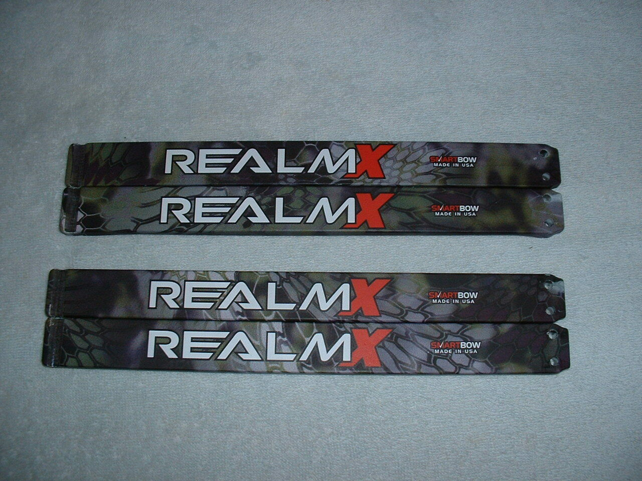 BOWTECH REALM X LIMBS ONLY IN KRYPTEC ALTITUDE PATTERN,  40 to 50 lb