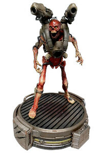 """Doom Collectors Edition 12"""" STATUE of the Revenant on LED-lit Base bethesda"""