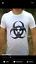 Biohazard Custom design ~ sizes S M L XL APOCALITHICS White T-shirt