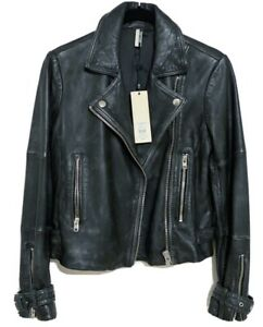 TOPSHOP-REAL-LEATHER-MOTORCYCLE-JACKET-NWT-PETITE-SIZE-US-2-RETAILS-FOR-320