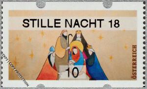 NEU-Osterreich-Winter-Weihnachten-2018-Krippe-10-cent-STILLE-NACHT-18
