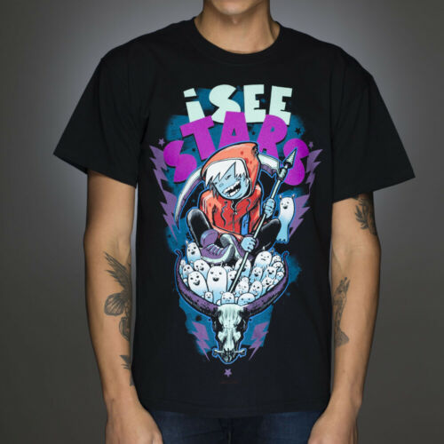 Ghosts T-shirt NEW Licensed Band Merch ALL SIZES OFFICIAL I See Stars