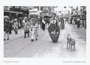 Postcard-034-The-Children-039-s-Parade-034-1942-Charro-Days-Brownsville-Tx-A50-1