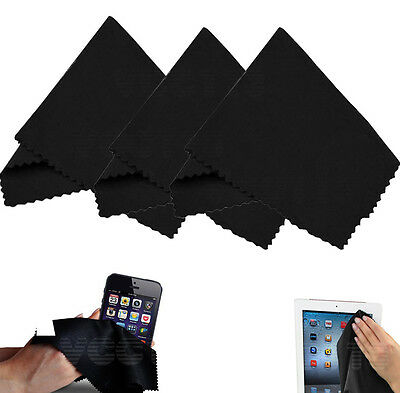 (3 Pack) Microfiber Cleaning Cloths For Tablet,Cell Phone,Laptop, LCD Screens