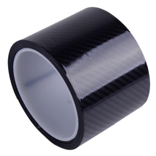 Coche De Fibra De Carbono Vinilo Coche Pegatina Calcomanía Hoja de rollo de película envolvente 3cm//5cm//7cm útiles