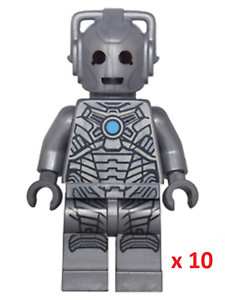 Amical 10 X Lego 71238 Doctor Who Cyberman Figurine. Dimensions, Neuf-afficher Le Titre D'origine