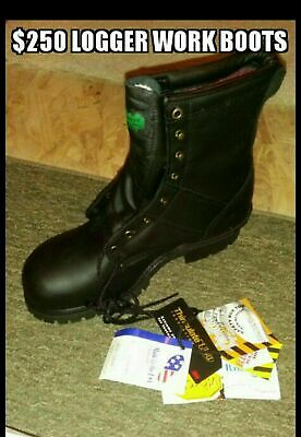 Men S Work Boots Rugged Logger Boot