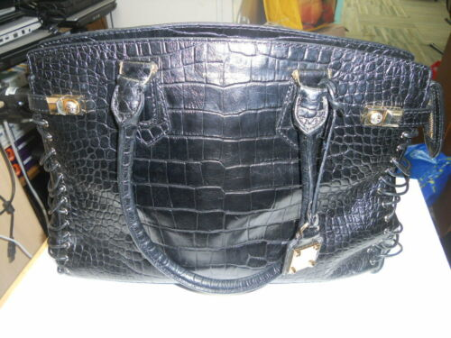 HENRI BENDEL black leather bag