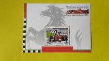 REPUBBLICA ITALIANA 2001 FOGLIETTO NUOVO FERRARI CAMPIONE DEL MONDO T116