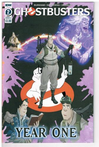 Vault 35 Ghostbusters Year One #2 Cover A VF//NM 2020 IDW