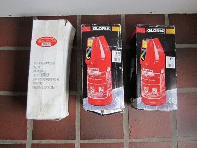 Ildslukkere, Gloria + B-C