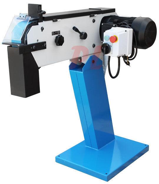 """Industrial 3"""" BELT GRINDER SANDER 200x75 mm 3360-RPM 3 Phase 220V Grinding"""