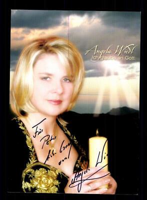 National Zielsetzung Angela Wiedl Autogrammkarte Original Signiert ## Bc 147134 SchnäPpchenverkauf Zum Jahresende Autogramme & Autographen