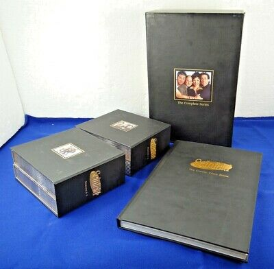 Seinfeld The Complete Series Box Set Dvd 33 Disc Set W Coffee Table Book 43396224537 Ebay