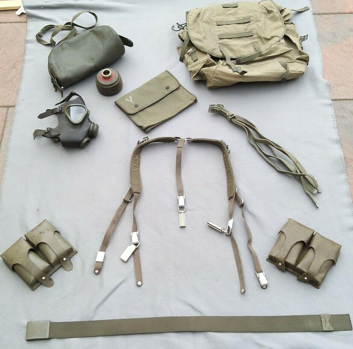Bild 1 - Bundeswehr NATO Koppeltragegestell Magazintaschen Koppel Rödelriemen ABC