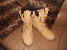 """Timberland Men's Boot 8"""" Inch Classic Premium 12281 Wheat Nubuck *WORN ONE HOUR!"""