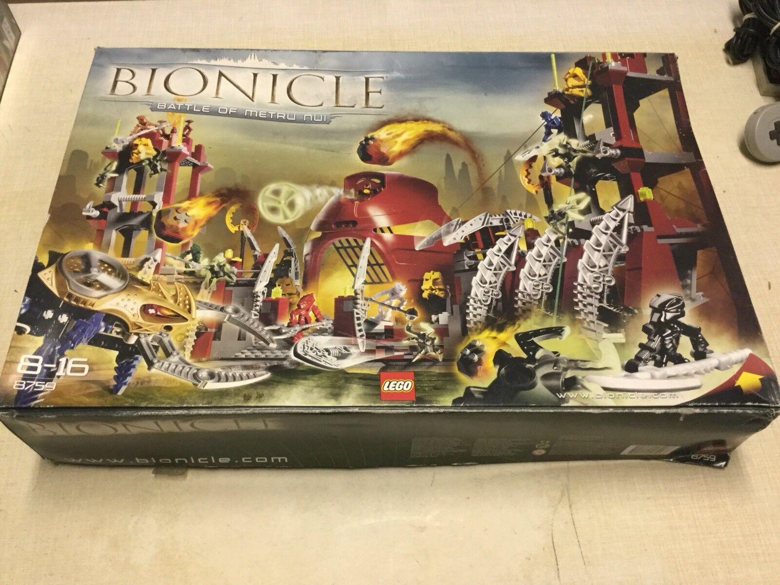 LEGO BIONICLE SET 8759 NUOVO COMPLETO SCATOLA APERTA