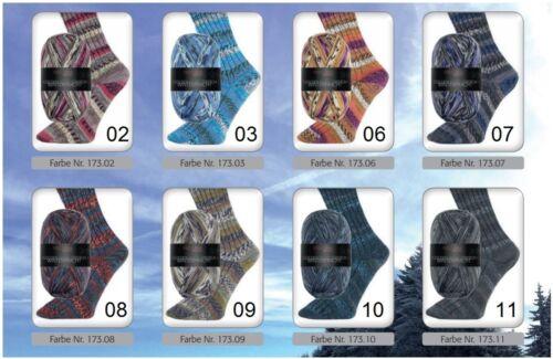 EUR 6,45 100 g PRO LANA WINTERPRACHT Golden Socks Stretch Sockenwolle 100g