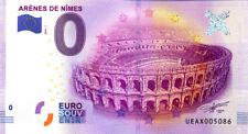 30 NIMES Les arènes, 2016, Billet 0 € Souvenir