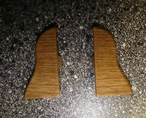 2-x-Endkappe-fuer-Wandabschlussleiste-fuer-Sockelleisten-40mm-Muster-Eiche