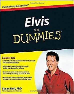 Elvis for Dummies Paperback Susan Doll