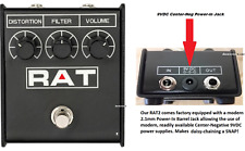 RAT2 Pedal NEW! Ships FREE to ALL US Zip Codes by USPS Priority. 2.1mm PWR Plug