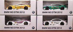ORIGINALE-BMW-m3-DTM-2012-modello-di-auto-80422321992-BMW-m3-e92-COLLEZIONE