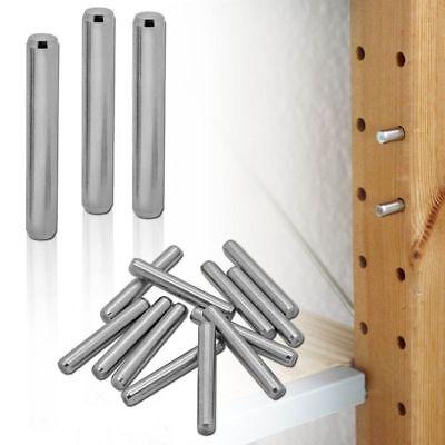 Acier Inoxydable Support D Etagere Support Boulons Pour Ikea Ivar Pins Antirouille 4 48 Pcs Ebay