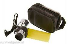 8x20mm Scope Monocular Aluminum Scouting Spotting Camping Case Hunting Golf Hike