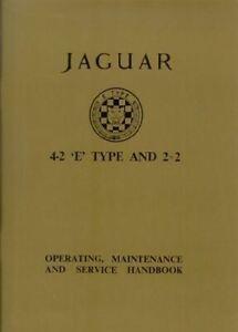 1965-1966-1967-68-Jaguar-Xke-E-Type-Owners-Manual-Handbook-Glovebox-Book-4-2-2-2