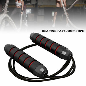 Weighted-Skipping-Rope-Steel-Wire-Adjustable-Speed-Jump-Rope-Workout-Exercise