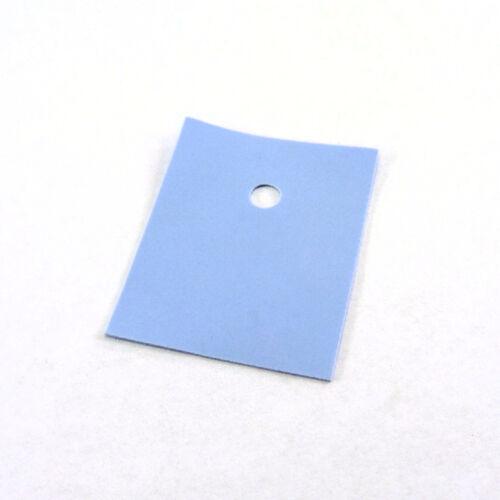 Almohadillas De Aislamiento Térmico conducción transistor de silicona Cap Hoja de calor resistir