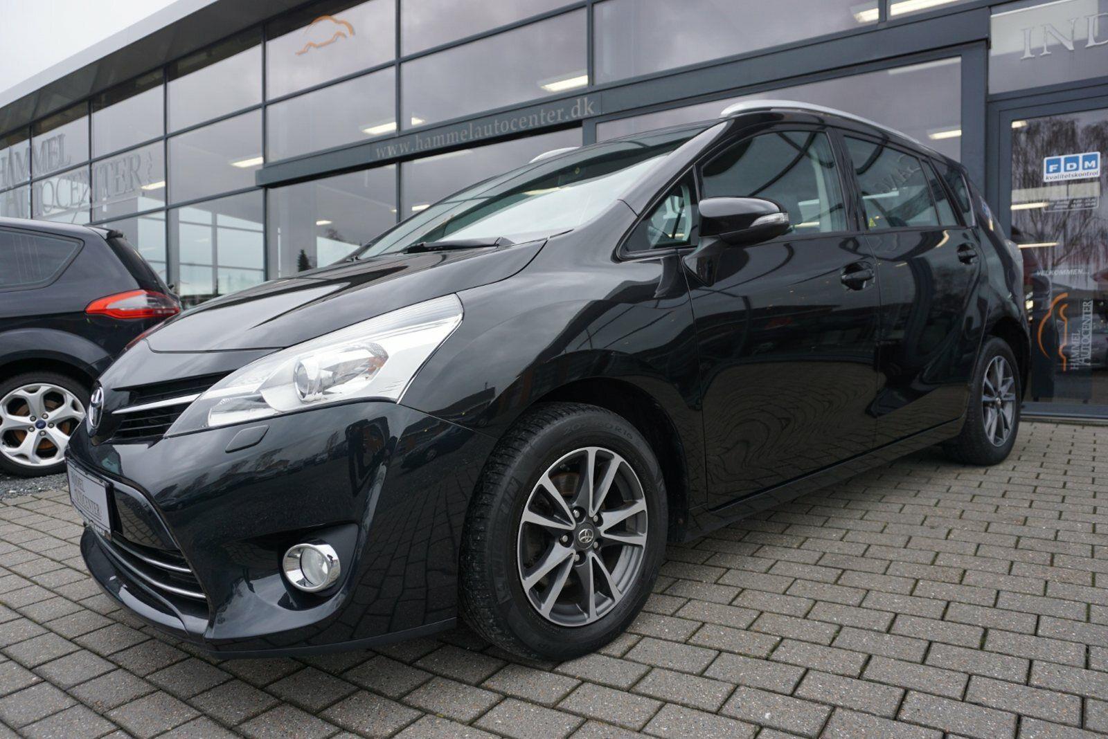 Toyota Verso 1,6 D-4D T2 Touch 7prs 5d - 159.800 kr.