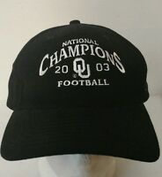 2003 Oklahoma Sooner 2003 National Champions Hat College Football Hipster Okie Z